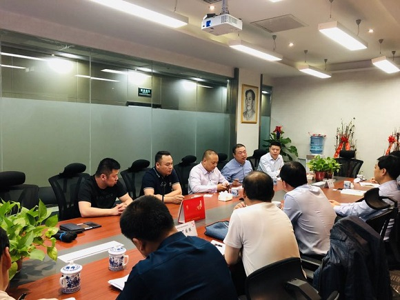 Chunhua Government Delegation Visited Brightway